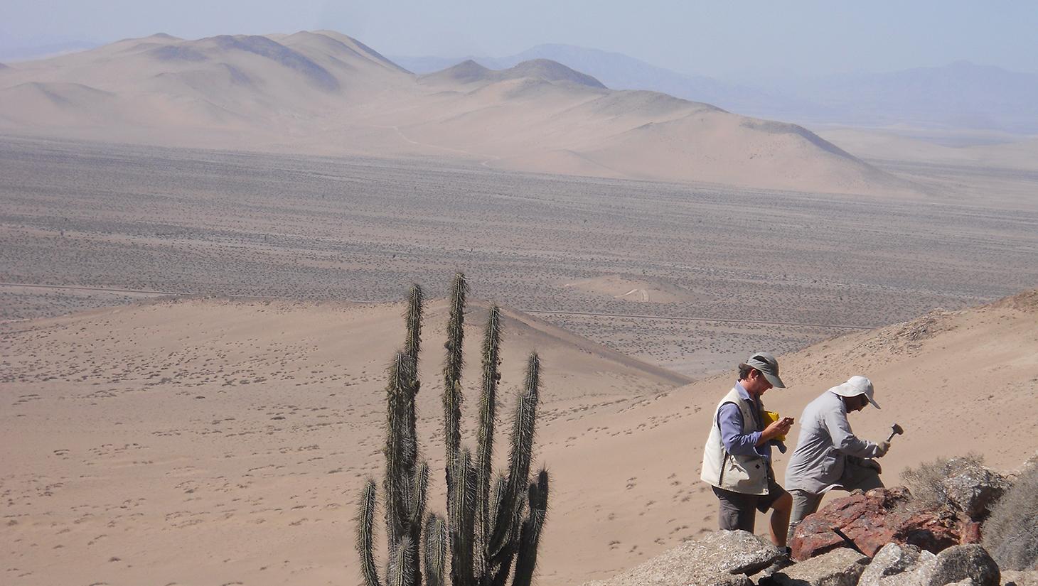 Muestreo en Atacama1